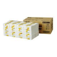 日本製紙クレシア (61011) キムタオル ホワイト4つ折り 4枚重ね×50枚×24束☆