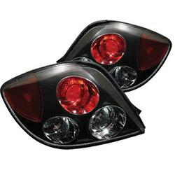 【スパイダー (ライト)】( Spyder ) Hyundai Tiburon 03-05 ユーロスタイル テールライト - ブラック
