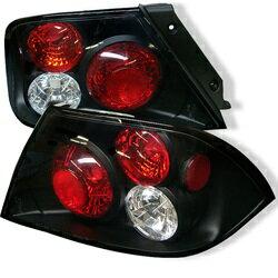 【スパイダー (ライト)】( Spyder ) Mitsubishi Lancer 02-03 (Not Fit: Evolution) ユーロスタイル テールライト - ブラック