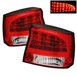 人気激安 【スパイダー (ライト)】( Spyder ) Dodge Charger 06-08 LED テールライト - レッドクリア