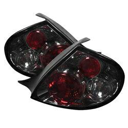 【スパイダー (ライト)】( Spyder ) Dodge Neon 00-02 ユーロスタイル テールライト - スモーク