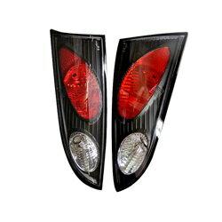 【スパイダー (ライト)】( Spyder ) Ford Focus 00-04 3/5Dr ユーロスタイル テールライト - ブラック