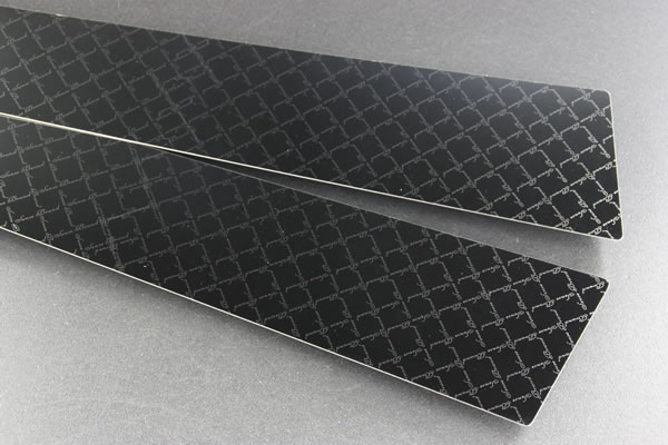 【10 ウィッシュ | センスブランド】ウィッシュ ANE10 ステンレスピラー 8P モノグラムチェックライン ブラック鏡面