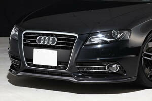 �Audi A4 8K/B8 | ロエン / トミーカイラ】AUDI A4 8K Front Spoiler FRP