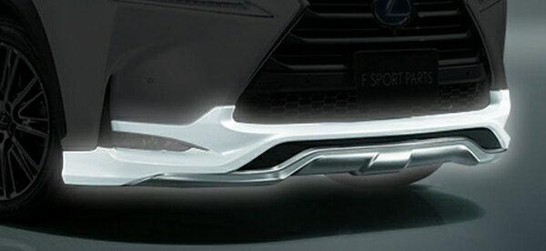 �LEXUS NX   トヨタモデリスタ】LEXUS NX MODELLISTA F SPORT PARTS フロントス�イラー メーカー塗装済� スターライトブラックガラスフレーク