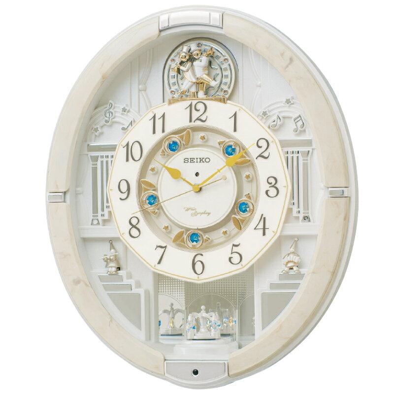 セイコー電波からくり掛時計45.6×52.3×14.5cm・3400g(割引サービス不可、取り寄せ品キャンセル返品不可、突然終了欠品あり)