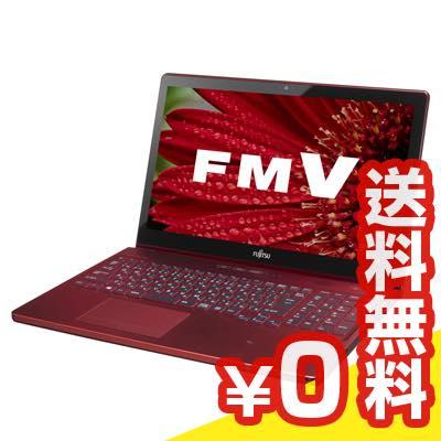 中古パソコン Windows8 FMV LIFEBOOK AH77/R FMVA77RR [ガーネットレッド] 中古ノートパソコン Core i7 15.6インチ 送料無料 当社3ヶ月間保証 A4 【 中古スマホとタブレット販売のイオシス 】