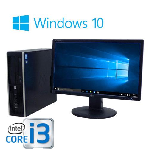 中古パソコン HP 6200sf Core i3 2100(3.1GHz) メモリ4GB SSD新品240GB+HDD新品1TB DVDマルチ Windows10 Home 64bit MRR 22型ワイド液晶 /0588SR /中古