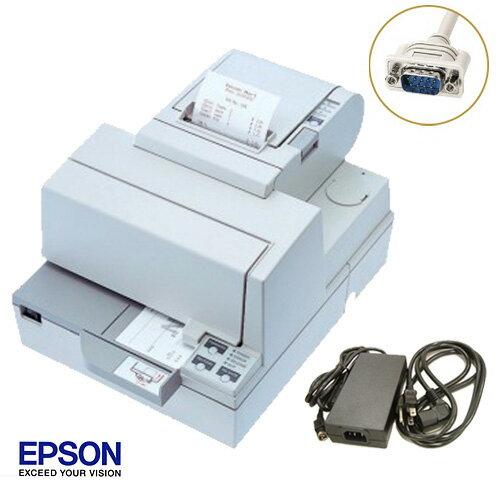 EPSON レシート/スリッププリンタ (RS-232Cタイプ) TM-H5000ii 電源付セット【送料無料・代引手数料無料】♪