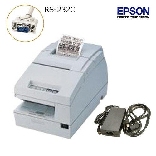 EPSON レシート/スリッププリンタ (RS-232Cタイプ) TM-H6000iii 電源ユニット・ACケーブル付【送料無料・代引手数料無料】♪