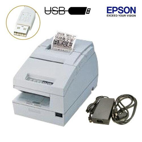 EPSON レシート/スリッププリンタ (USBタイプ) TM-H6000iii 電源ユニット・ACケーブル付【送料無料・代引手数料無料】♪
