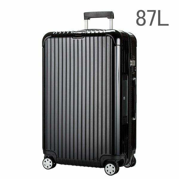 【E-Tag】 電子タグ RIMOWA リモワ サルサデラックス 870.73 87073【4輪】 スーツケース マルチ 【SALSA DELUXE】 ブラック Multiwheel 87L (830.73.50.4)