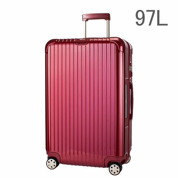 【E-Tag】 電子タグ RIMOWA リモワ 【4輪】 サルサ デラックス スーツケース マルチ 873.77 87377 【Salsa Deluxe 】 Multiwheel レッド 97L (830.77.53.4)