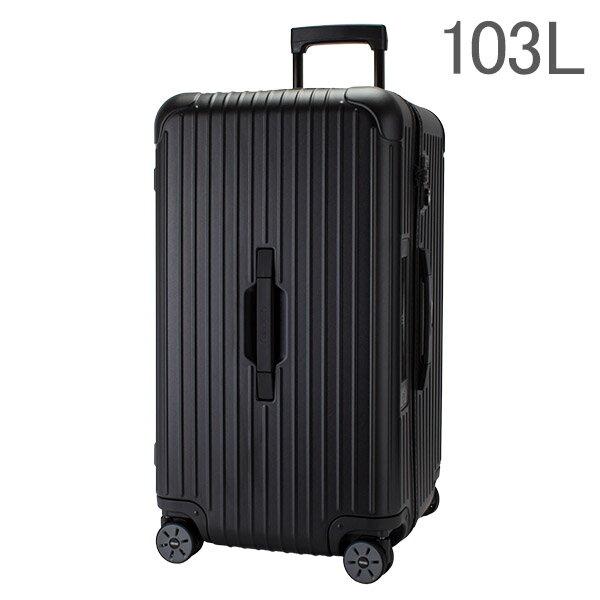 【E-Tag】 電子タグ RIMOWA リモワ サルサ 834.80 83480 スポーツ マルチホイール 4輪 スーツケース ブラック Sport Multiwheel 103L (810.80.32.4)