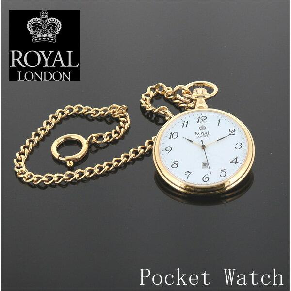 【正規販売店】ロイヤルロンドン 90015-02 ポケットウオッチ ROYAL LONDON