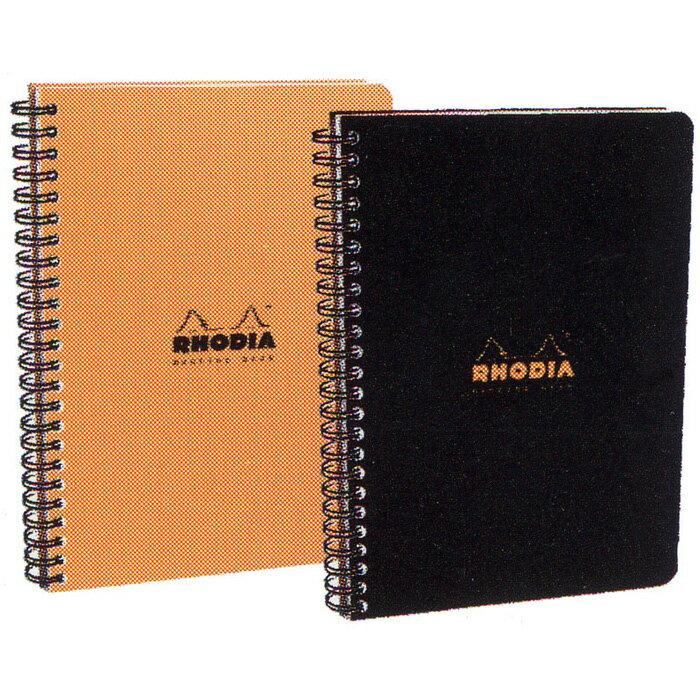 ロディア 5冊パック クラシック ダブルリング ミーティングブック【 プレゼント ギフト 】【万年筆・ボールペンのペンハウス】 (A5) オレンジ【送料無料・ラッピング無料】「デザイン文具」【 プレゼント ギフト 】【万年筆・ボールペンのペンハウス】 (8250)