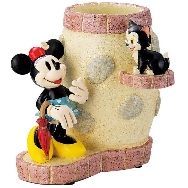ディズニー ガーデニング 雑貨 傘立て ミニーマウス&フィガロ インテリア・ガーデン用品 取寄品 3週間前後