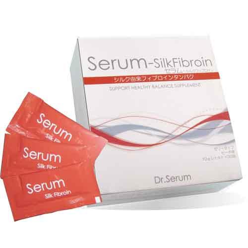 【送料無料】【生活雑貨】【新日本機能食品】Dr.Serum/セラム シルクフィブロイン 10g×30包 <特許取得の食べるシルクダイエット> ダイエット,サプリメント【SN】