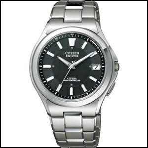 【コスパ高め】新品 即日発送 CITIZEN シチズン アテッサ ソーラー 電波 時計 メンズ 腕時計 ATD53-2841