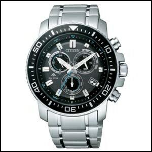 新品 即日発送 CITIZEN シチズン プロマスター ソーラー 電波 時計 クロノグラフ メンズ 腕時計 PMP56-3052