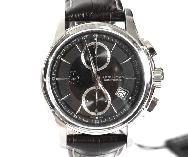 【送料無料】HAMILTON ハミルトン 腕時計 ジャズマスター JAZZ MASTER オート メンズ ブラックベルト/ダークブラウン文字盤 H32616533 【楽ギフ_包装】