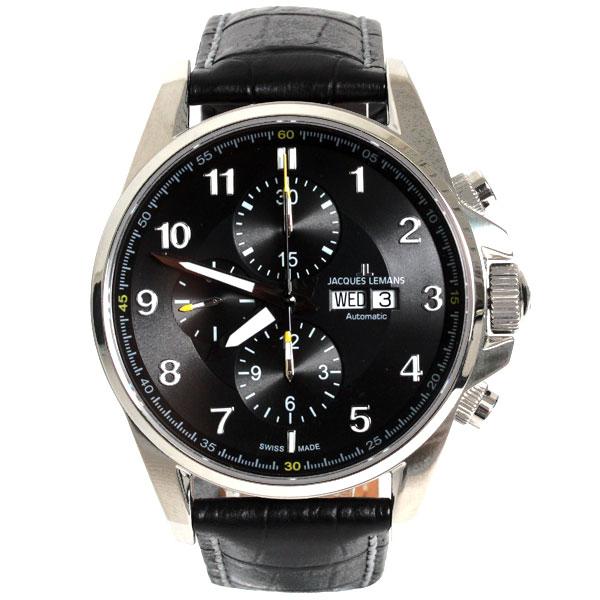 【新品】【送料無料】JACQUES LEMAN ジャックルマン 腕時計 LIVERPOOL リバプール 1-1750A クロノグラフ メンズ  時計 (VALOUX 7750)【楽ギフ_包装】