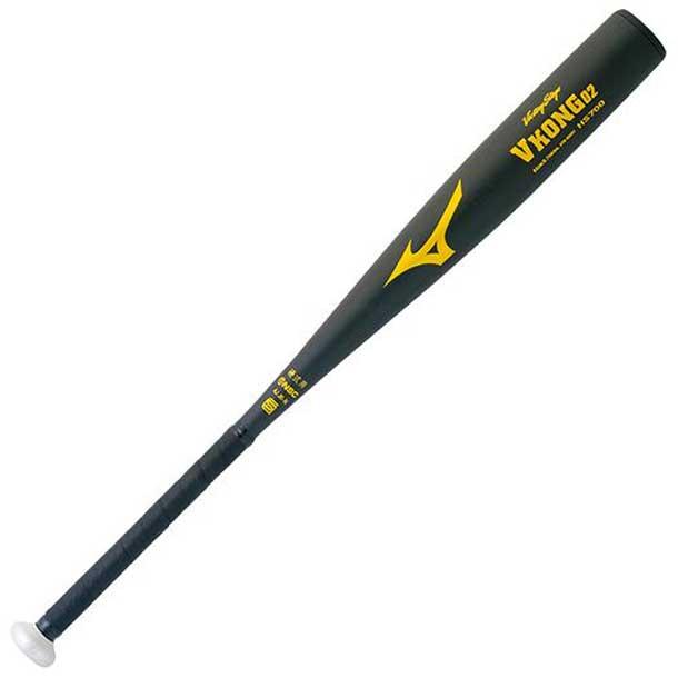 硬式用<ビクトリーステージ>Vコング02(金属製)(09Nブラック)【MIZUNO】ミズノ野球 バット 硬式用『金属製』(2th2042109n)*29