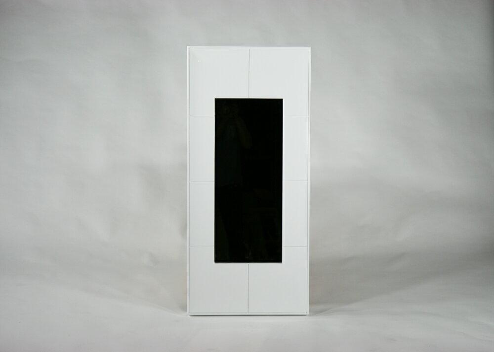 送料無料■新品■鏡面塗装 鏡 ミラー■ホワイト