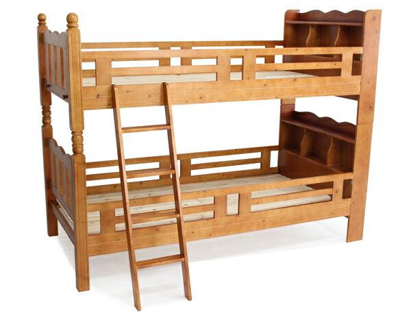 ■新品■◆◇宮付き二段ベッド◇◆二段ベッド 2段ベッド シングルベッド すのこベッド■ブラウン