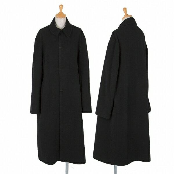 ワイズY's ウール比翼コート 黒M【中古】