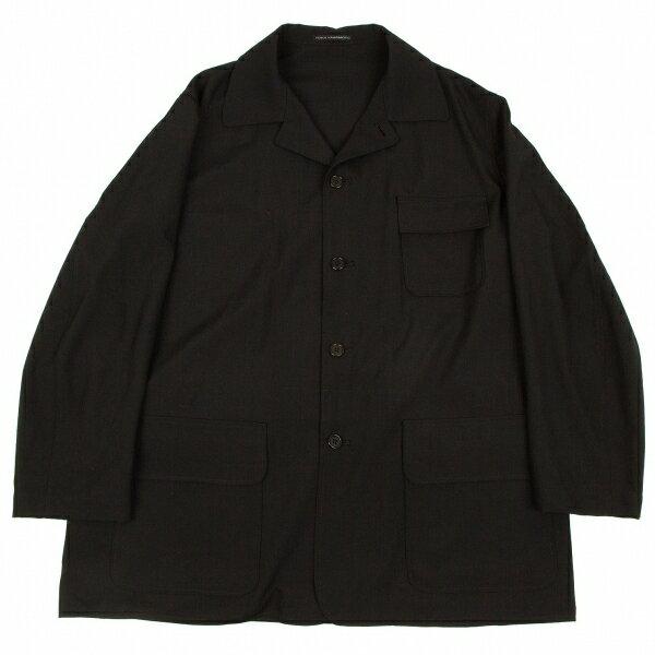 ワイズフォーメンY's for men ウールポケットデザインジャケット 黒3【中古】