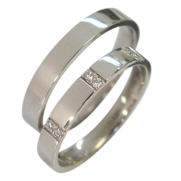 【送料無料】結婚指輪・プラチナ・ダイヤモンド・ペアリング・マリッジリング【smtb-m】【RCP】10P06Aug16