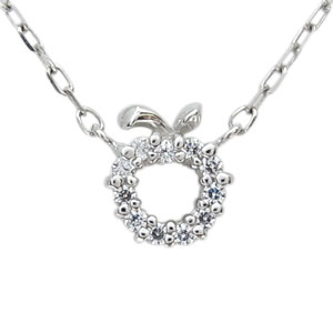 【送料無料】ダイヤモンド・プラチナ・リング・リンゴ・林檎・指輪【RCP】10P06Aug16