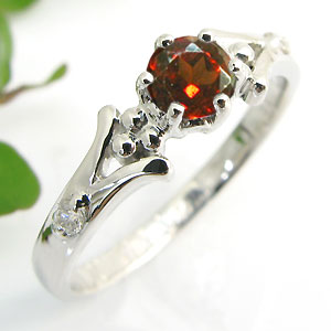 とても素敵 【送料無料】婚約指輪・プラチナ・リング・ガーネット・エンゲージリング【RCP】10P06Aug16