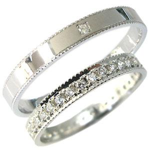 【送料無料】K18ゴールド・ペアリング・ダイヤモンド・結婚指輪・マリッジリング【RCP】10P06Aug16