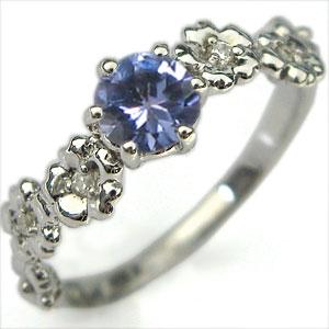 【送料無料】K10・リング・タンザナイト・大粒・エンゲージリング・婚約指輪【RCP】10P06Aug16