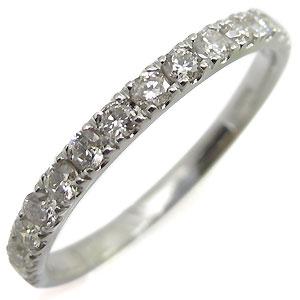 【送料無料】ダイヤモンド・リング・ハーフエタニティ・k10・ダイヤ・指輪 【RCP】10P06Aug16