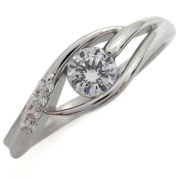 【送料無料】プラチナリング 鑑定書付き VSクラス ダイヤモンド 指輪【RCP】10P06Aug16