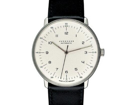 Max bill / マックスビル Automatic Wrist Watch Number White モデル027 3500.00 腕時計 デザイナーズウォッチ ユンハンス ドイツ 受注生産品 送料無料 フォーマル 自動巻ムーブメント