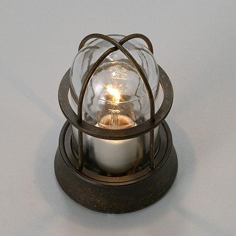 門柱灯 ガーデンライト マリンランプ アンティーク古色調 BH1000 AN CL 送料無料