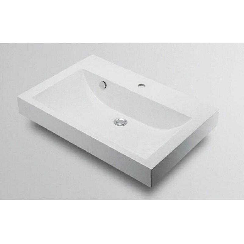 角型洗面器 493-070-750 1ホール 水栓 住宅設備 水廻り 金具 カクダイ KAKUDAI 吉KD