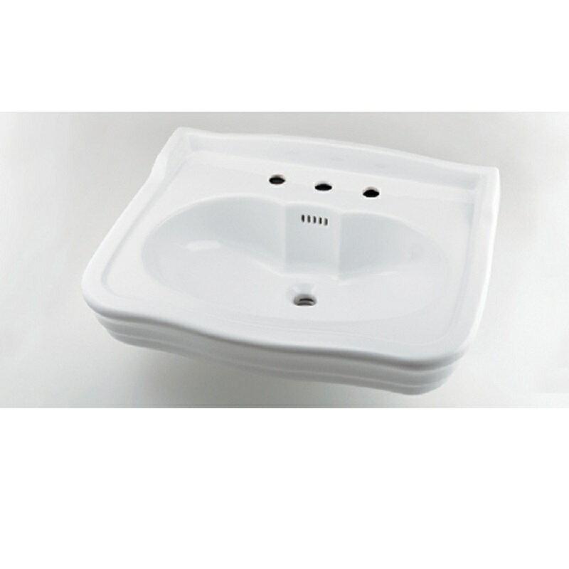 壁掛洗面器 #LY-493215 3ホール 水栓 住宅設備 水廻り 金具 カクダイ KAKUDAI 吉KD