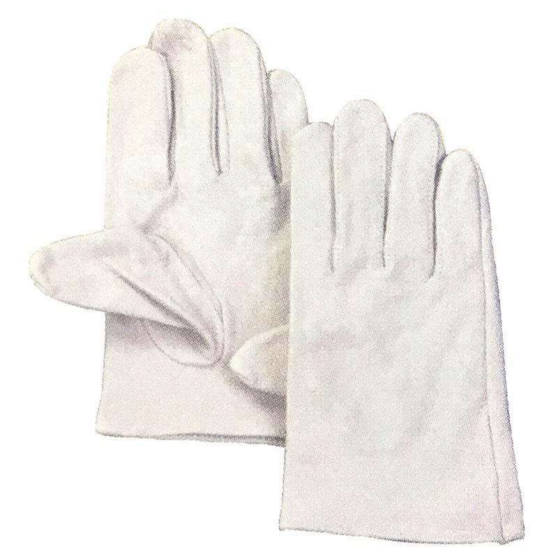 【120双】 豚革クレスト 手袋 作業用 革 皮 工場 現場 熱T 【代引不可】