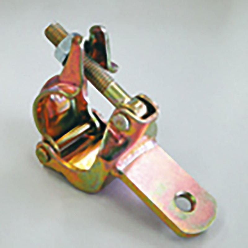 【40個】 ひっかけクランプ プレートタイプ 48.6 42.7 兼用 単管 単管パイプ に アミD
