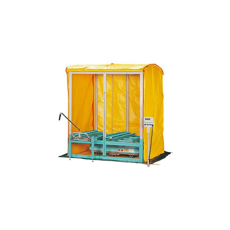 出芽器 複合蒸気式 KT-N240LAB 240箱収納 育苗器 啓文社 オK 【代引不可】