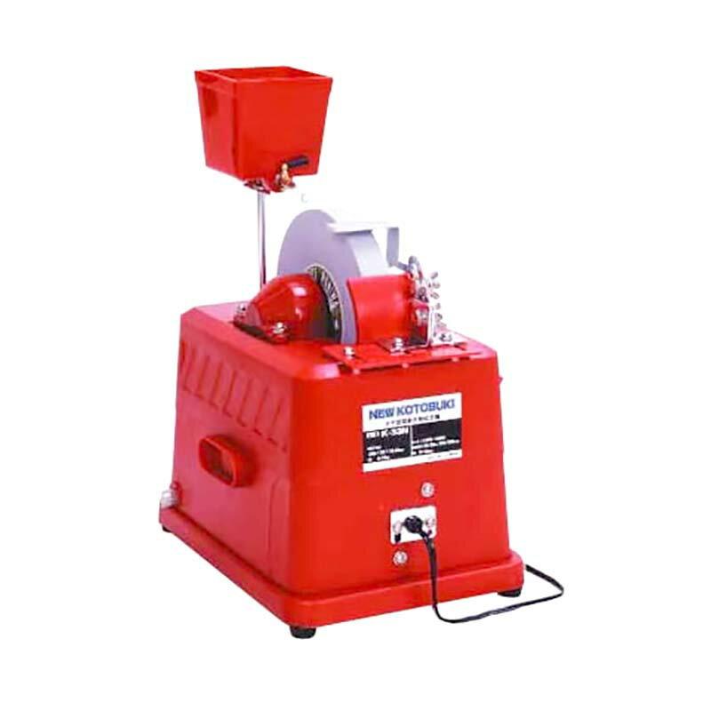 ニューコトブキ水研機 電動式 タテ型 K-33N型 小型刃物用 #220 研磨機 砥石 ウエダ製作所 ナニワD