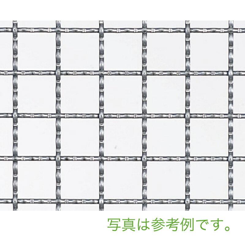 【北海道発送不可】  亜鉛クリンプ 金網 線径 #14(2.0mm) 網目 25 mm  幅 910 mm × 長さ(巻き) 15 m 吉田隆【代引不可】