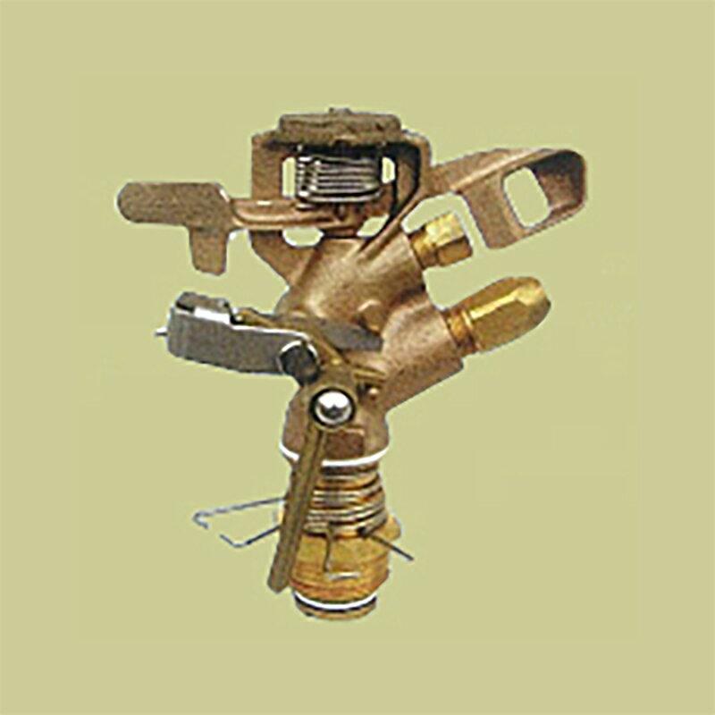 �耐久 金属 (農業用 緑化用) スプリンクラー 中型 (M1・M2) 60-PW 口径 5.6×4.8 mm 基本寸法 1PT 25度 共立イリゲート �J【代引不可】