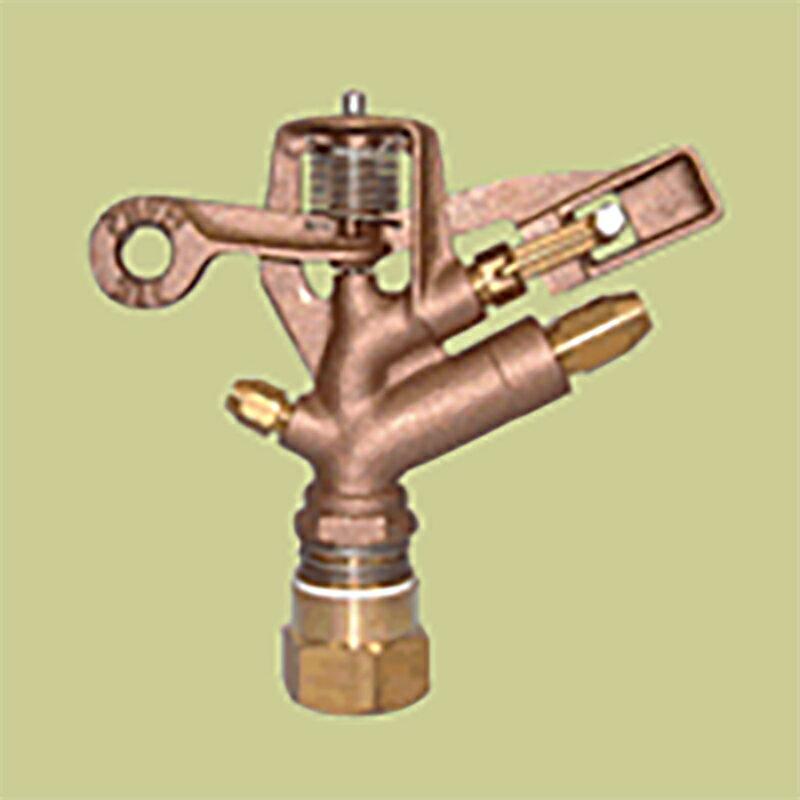 �耐久 金属 (農業用) スプリンクラー 中型 (M1・M2) 75-FWS 口径 5.6×4.4AN×3.6V mm 基本寸法 1PTメス 27度 共立イリゲート �J【代引不可】