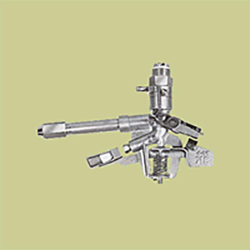 高耐久 金属 (産業用) 床洗浄用スプリンクラー 80-P5 口径 12.7×8.0 mm 基本寸法 1-1/4PT 6度×22度 共立イリゲート 防J【代引不可】